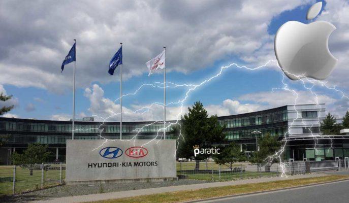Apple Görüşmelerini Yalanlayan Hyundai ve Kia'nın Hisseleri Düşüyor