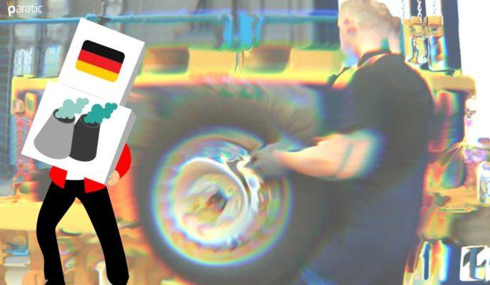 Aralık'ta Duran Alman Sanayi Üretimi 1Ç21 Daralmasını Önleyemeyecek