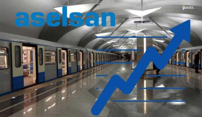 Aselsan Hisseleri Gebze-Darıca Metro Hattı İhalesindeki Başarıyla Yükseliyor