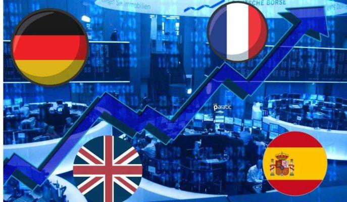 Gün Boyu Pozitif Seyreden Avrupa Borsalarındaki Kazançlar %2'yi Aştı