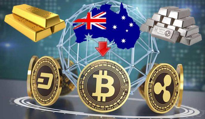 Avustralya'da Kripto Para Yatırımları Altın ve Gümüşten Fazla Yapılıyor