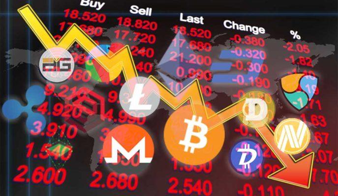 Bitcoin 45 Bin Dolara Kadar Düştü ve Altcoinler Yönünü Aşağı Çevirdi