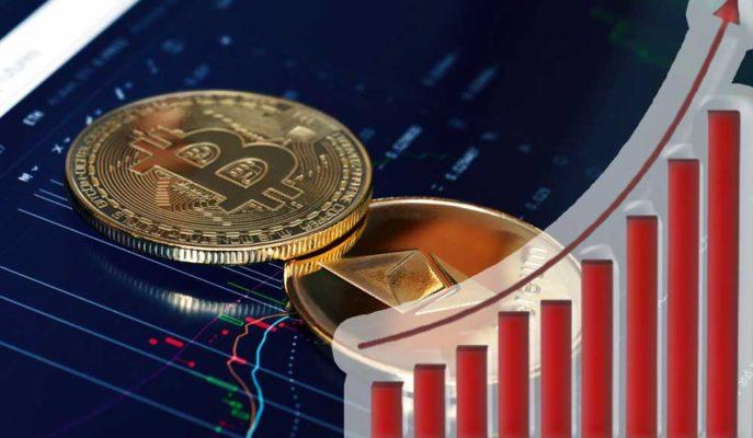 Bitcoin'in 50 Bin Doları Hedeflemesi ile Beraber ETH ve Altcoinler Yükselmeye Başladı