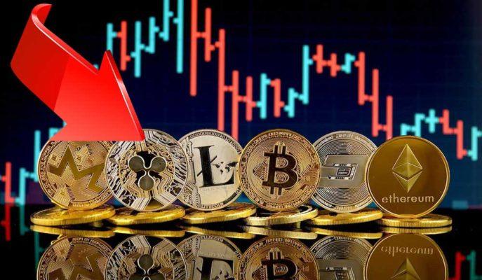 Bitcoin, Ethereum ve Bazı Altcoinler Yeni Düşüş Belirtileri Gösteriyor