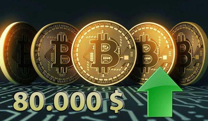 Bitcoin'in İkinci Çeyrekte 80 Bin Dolara Ulaşabileceği Tahmin Edildi
