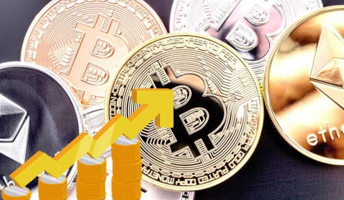 Bitcoin'in Rekoru Sonrası Ethereum ve Altcoinler Yukarı Yönde Hareket Ediyor