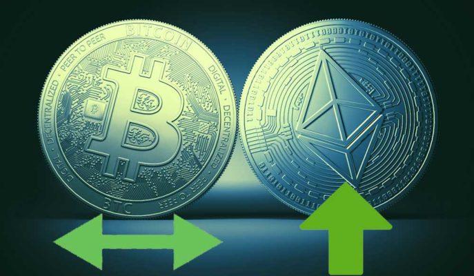Bitcoin Sabit Seviyesini Korurken Ethereum 1.950 Dolara Kadar Yükseldi