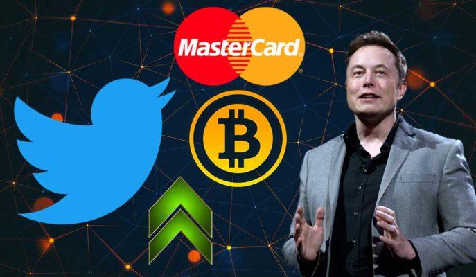 Bitcoin, Twitter, Mastercard ve Elon Musk Desteğiyle 50 Bin Dolara Yaklaşıyor