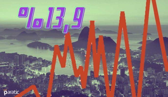 Brezilya'da İşsizlik 4Ç20'de %13,9'a Düşerken 2020 için Oran %13,5 Oldu