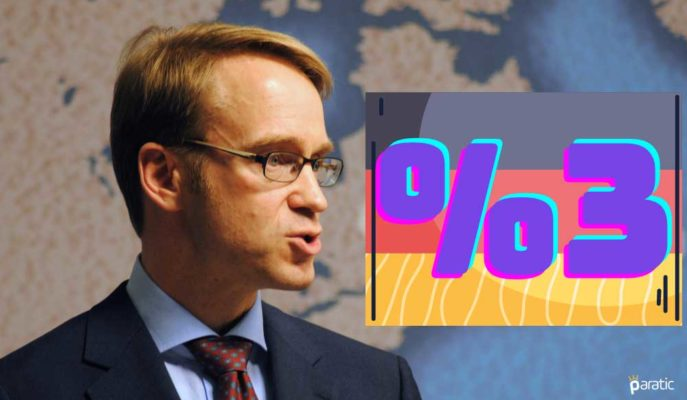 Bundesbank Başkanı 2021'de %3 Büyüme Tahminine Bağlı Kaldı