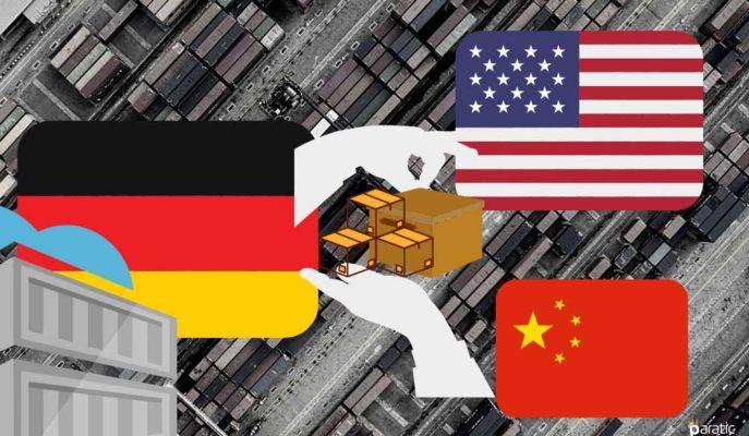 Çin, Alman İhracatçılar için Önem Derecesinde ABD'yi Yakalıyor