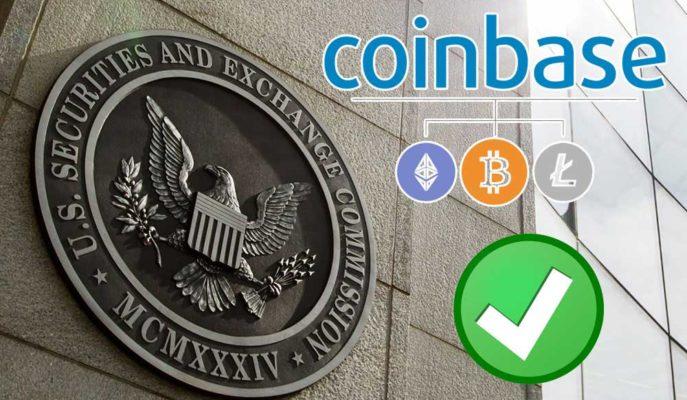 Coinbase'ın SEC'den Onay Alması Sonrası Bitcoin Yönünü Yukarı Çevirdi