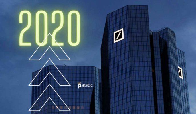 Deutsche Bank 2020 Yılı için Kazanç Beklentilerini Aştı