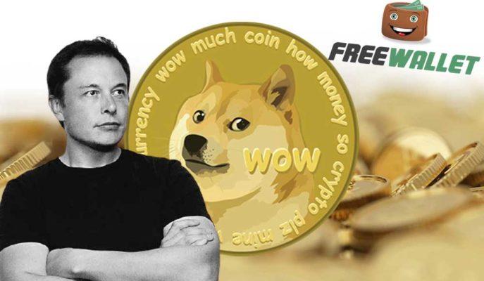 Dogecoin'in Yükselişi Elon Musk ile Freewallet'ı Karşı Karşıya Getirdi