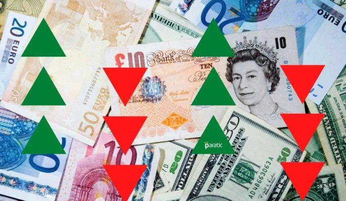 Euro ve Sterlin Karşısında Zayıflayan Dolar, TL'ye Baskın Gelmeye Devam Ediyor