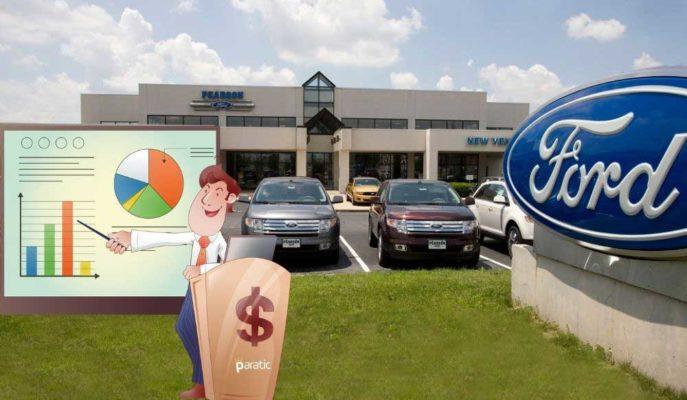 Tamamen Elektrikli Araç Sistemine Geçişi Hedefleyen Ford Hisseleri %1,3 Primli