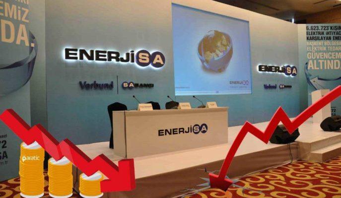 Zirveden Düşen Enerjisa Hisseleri %6'lık Değer Kaybını Sürdürüyor