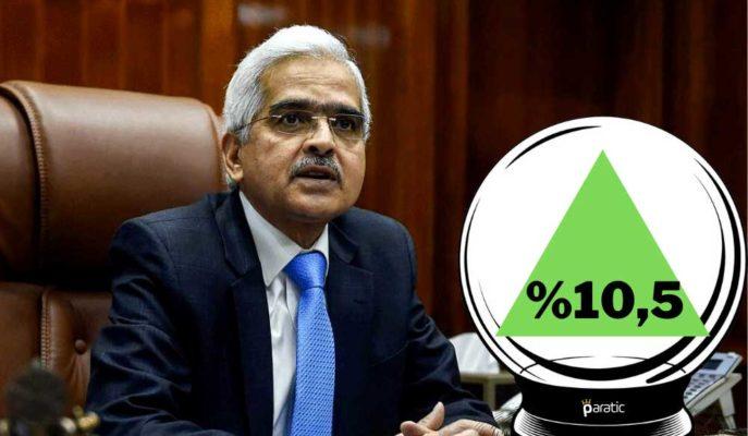 Faiz Değiştirmeyen Hindistan MB, 2022 Mali Yılı için %10,5 Büyüme Tahmin Etti