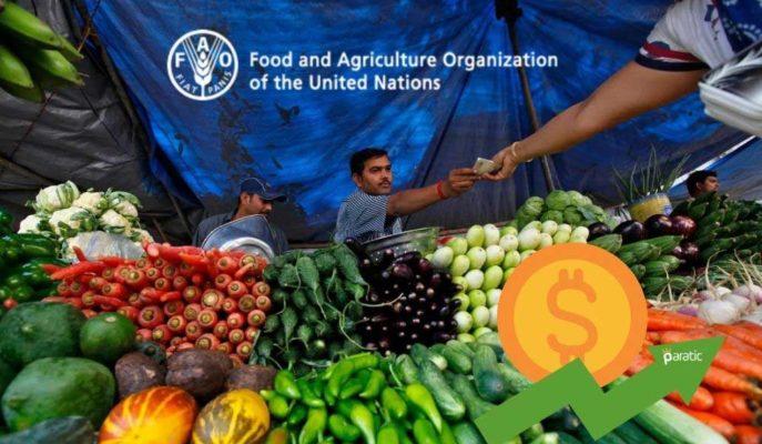 Küresel Gıda Fiyatları Artışını Sürdürürken, FAO Endeksi 2014'ten Bu Yana En Yüksek