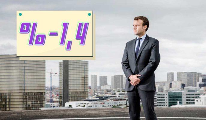 Fransa GSYİH'si 2020'nin Son Çeyreğinde %1,4 Küçüldü