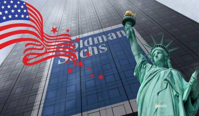 Goldman Sachs ABD Ekonomisinin 2021'de %6,8 Büyüyeceğini Öngörüyor