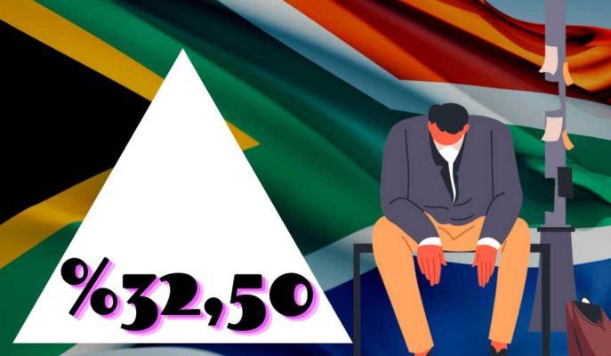 Güney Afrika'da İşsizlik 4Ç20'de %32,5'le Rekor Yükseldi