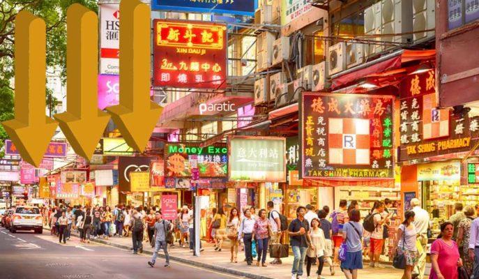Hong Kong Perakende Satışları Aralık 2020'de Yıllık %13,2 Azaldı