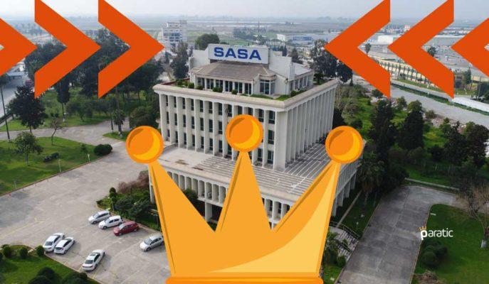 İkinci En Yüksek İşlem Hacmine Sahip SASA'nın Hisseleri %8'den Fazla Arttı