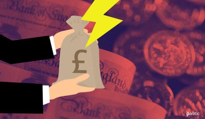 İngiltere Ortalama Haftalık Kazanç Artışı 1Ç21'de Düşüşe İlerliyor
