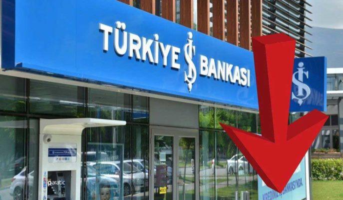 İş Bankası Hisseleri S&P'nin Pozitif Değerlendirmesine Rağmen Düşüşle Kapandı