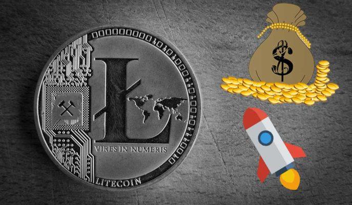 Litecoin Altcoin'lerdeki Artışın Etkisiyle Son 3 Yılın En Yüksek Seviyesine Ulaştı