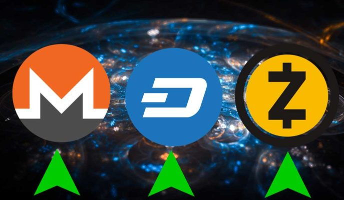 Gizlilik Odaklı Kripto Paralar Monero, DASH ve Zcash Haftanın Kazandıranları Oldu