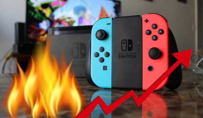 Nintendo Switch Tarihinin En Parlak Çeyreğini Yaşadı