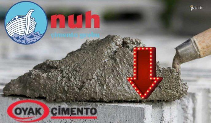 Çimento Sektöründeki Şirket Hisseleri %27,3 Artan İhracata Rağmen Düşüşte