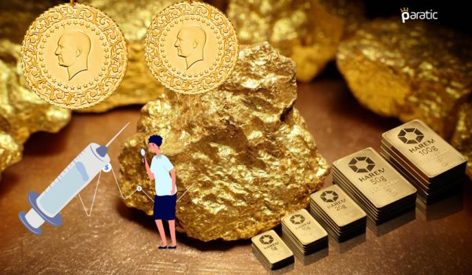 Ons 1800 Dolar Altına İnerken, Gram Altın Toparlanmakta Güçlük Çekiyor