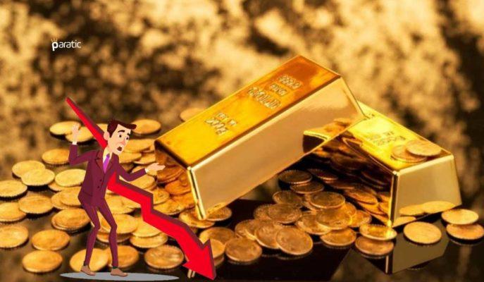 Ons 1800 Doların Aşağısına Sert Gerilerken, Gram Altın 400 Lira Üzerinde