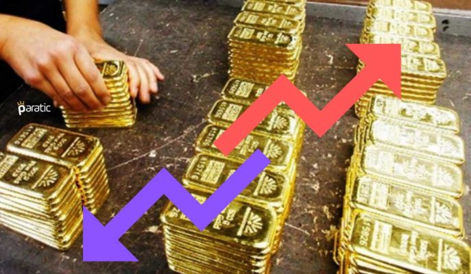 Ons Hafif Toparlanırken, Gram Altın 410 Liranın Aşağısında Geziniyor