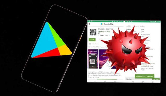 Play Store'da Zararlı Yazılım İçeren Barkod Tarayıcı Uygulaması Tespit Edildi