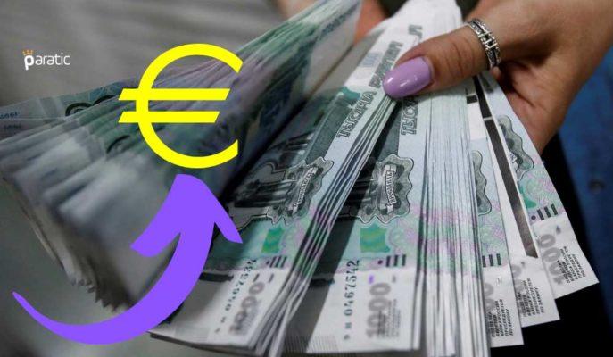 Rus Rublesi Euro Karşısında 1 Hafta Sonra Yeniden 90 Seviyesine Zayıfladı