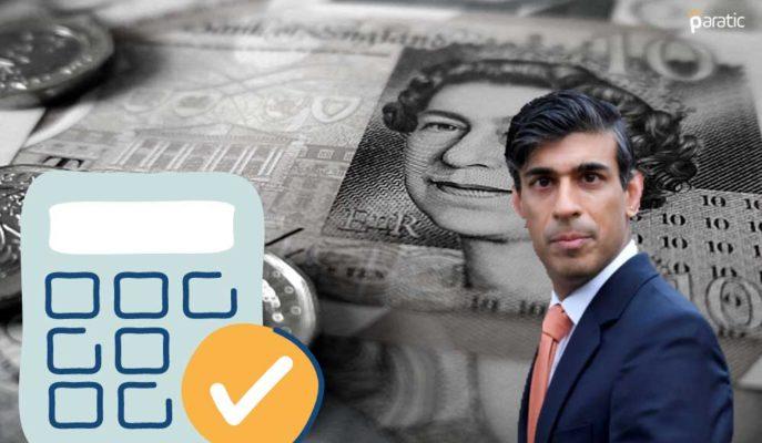 Şansölye Sunak Bütçe'de Vergi Artırmayıp İyileşmeye Odaklanmalı