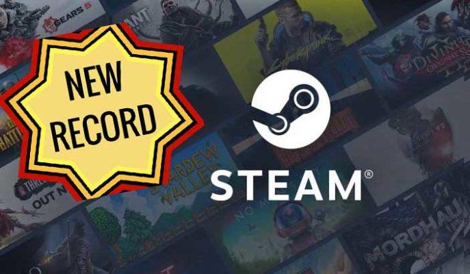 Steam Platformu Anlık Oyuncu Sayısında Kendi Rekorunu Egale Etti