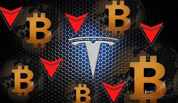 Tesla Hisseleri Bitcoin'deki Düşüşün Sürmesiyle Açılış Öncesinde %6 Zayıfladı