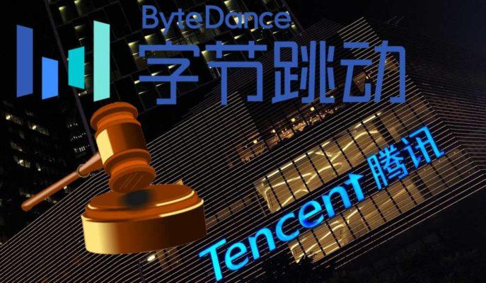 TikTok'un Sahibi Bytedance, Tencent'e İçerik Engelleme Davası Açtı