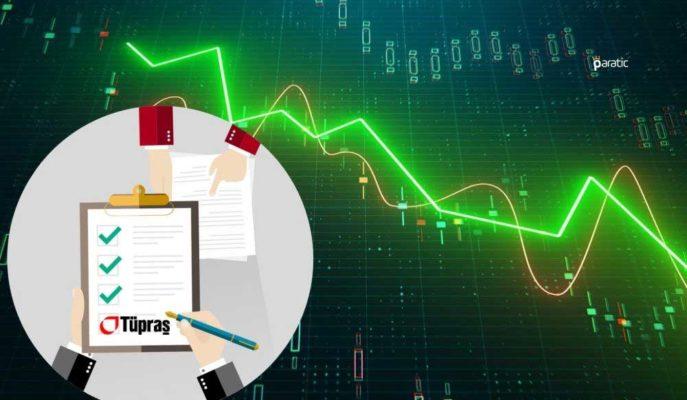 Tüpraş Hisseleri, Bilançonun Pozitif Etki Beklentisine Rağmen %3 Değer Kaybetti