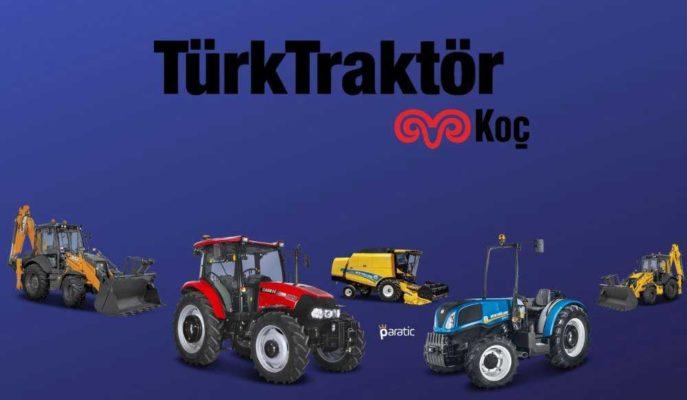 Yatırım Kuruluşlarının Hedef Fiyatları Yükselttiği Türk Traktör Hisseleri Tavan Yaptı