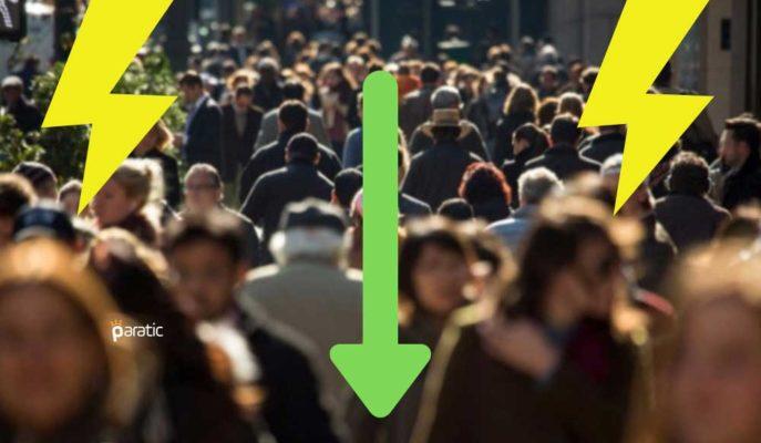Türkiye'de Nüfus Artış Hızı 2020'de Yavaşlayarak Binde 5,5 Oldu