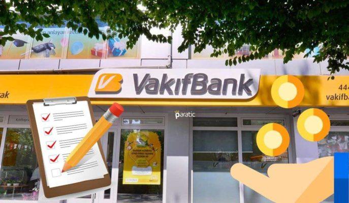 5,01 Milyar TL Kar Açıklayan Vakıfbank'ın Hisseleri 40 Günde %3,4 Geriledi