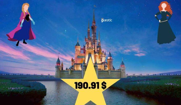 Yükselişe Geçen Disney Hisseleri, Performansıyla Öne Çıktı