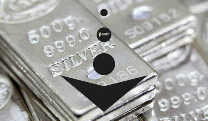 %2,5 Azalan Ons Gümüş Haftanın En Düşüğünde Seyrediyor