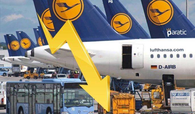 2020'yi Zararla Kapatan Lufthansa Hisseleri %2 Değer Kaybetti